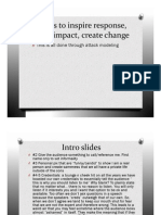 5 ways to inspire response, cause impact and break molds