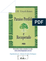 Paraíso Perdido e Recuperado - D.M. Lloyd-Jones