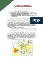 Tema 10.- La España del siglo XVIII.