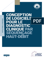 Conception de Logiciels Pour Le Diagnostic Clinique Par Sequencage Haut Debit Mel 20180221