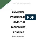 ESTATUTO DE LA PAST. JUV. DIOS.POS.