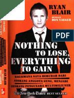 (Ind) Nothing To Lose Everything To Gain -Ryan Blair