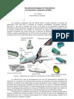 Description phénoménologique des dégradations dans les matériaux composites stratifiés