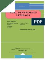 Buku Pemasukan Lembaga
