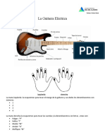 La Guitarra Eléctrica clase 1