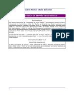 NICSP - 05 - Custos de Emprestimos Obtidos