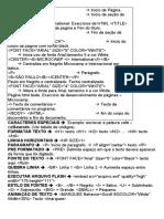 codigos para HTML
