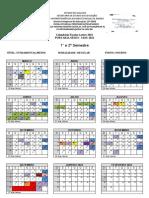 calendário 2021 - Regular NOTURNO