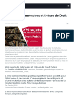 279 sujets de mémoires et thèses de Droit Public_1614024375497