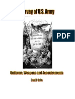 Survey of US Army Uniforms Weapons and Accoutrements