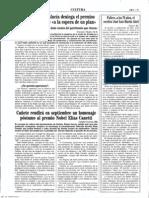 1994-08-20 - La Junta de Andalucía deniega el permiso para excavar Orce a la espera de un plan