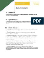 10 - Les Démences