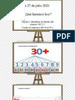 Martes 27 de Julio Matematica