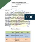 CIRCULAR # 23- HORARIO DE EXAMEN II P.