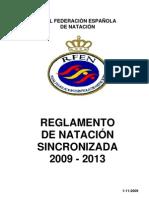 REGLAMENTO DE SINCRO EN ESPANOL PARA 2009-2013