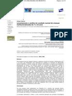 LEVANTAMENTO E ANÁLISE DA CONDIÇÃO VACINAL DE 7 A 16 ANOS