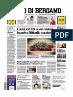 L Eco Di Bergamo 6 Aprile 2020