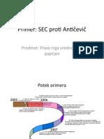 SEC-ANTIČEVEČ
