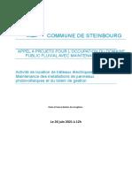 AO reglement consultation