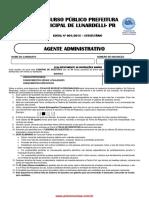 agente administrativo - Lunardelli contribuição do João Crisóstomo