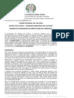 Edital FEC 07-2021 - Sistemas Municipais de Cultura