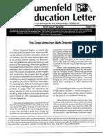 The Blumenfeld Education Letter August 1