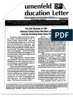 The Blumenfeld Education Letter December 1991