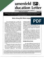 The Blumenfeld Education Letter February 1991