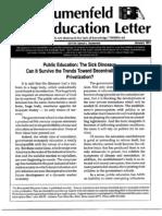 The Blumenfeld education Letter January 1991