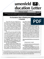 The Blumenfeld Education Letter September 1991