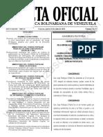Gaceta Oficial N°42.174