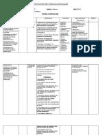Planificación de Ciencias Sociales