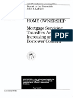 1989 GAO Report on Mortgage Servicing Abuses