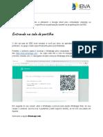 Manual Do Aluno - Google Meet