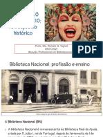 Profissão Bibliotecário - Retrospectro Histórico