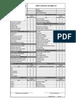 (F-MCM-PRP-52) Formato Check List Manlift