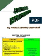 CONTROL  ESTRATEGICO PRESENTACION final