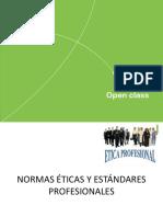 Open Class. S2 Normas éticas y estándares profesionales (1)