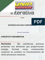 Aula 3 - Nutrição e Metabolismo- Carboidrato