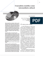 O Jornalista Científico Como Intermediário Cultural_lucia Santaella