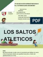 SALTOS EN EL ATLETISMO