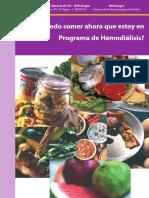 Alimentos en El Programa de Hemodialisis Castellano