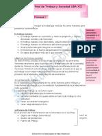 Resumen examen Final de Trabajo y Sociedad UBA XII