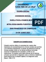 Concepto de Cohesión Social.