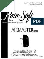 Rainsoft Air Master Ultra