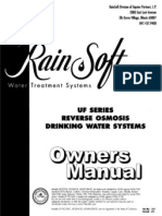 Rainsoft Reverse Osmosis