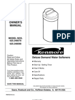 (Sears)DeluxeDemandWaterSoftenersownersmanuals