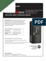 Trojan UVMax G H J Manual