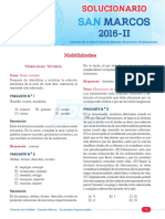 Unmsm 2016-2 - Sabado
