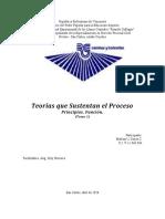 Trabajo del tema 1 (teorias que sustentan el proceso) Teoria General del Proceso